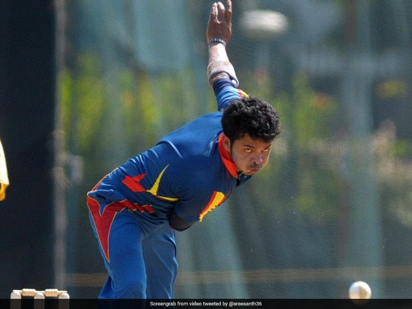 Syed Mushtaq Ali Trophy: Sreesanth Announces Return To Competitive Cricket  With A Wicket | Cricket News