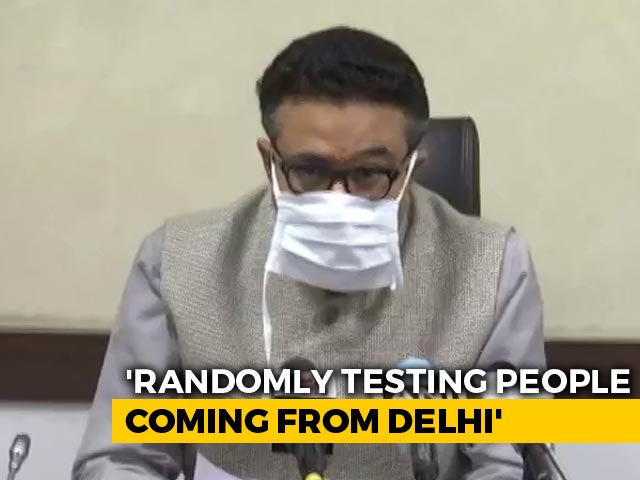 Video : UP To Test People Coming In From Delhi For Covid: Report