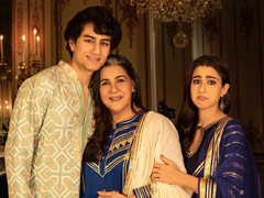 Help Us Decode Sara Ali Khan's Caption For Fam-Jam Pics