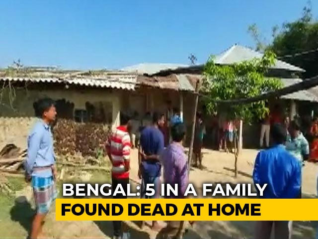 Video : 5 Of Family Found Dead In West Bengal: Police