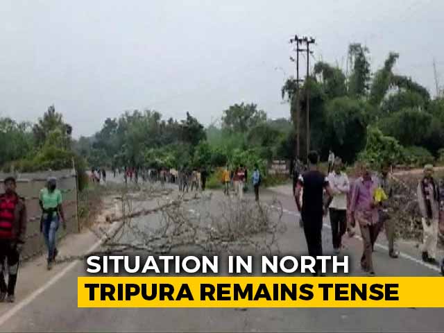 Video : 2 Dead, 23 Injured As Police Fire At Protesters In Tripura