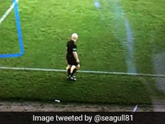 AI Camera Ruins Football Game By Mistaking Referee's Bald Head For Ball