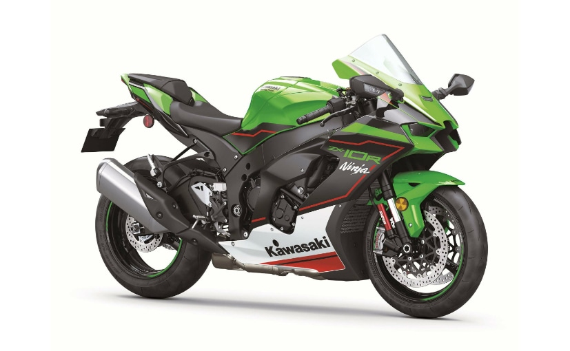 The 2021 Kawasaki ZX-10R gets new design, new features and updated electronics