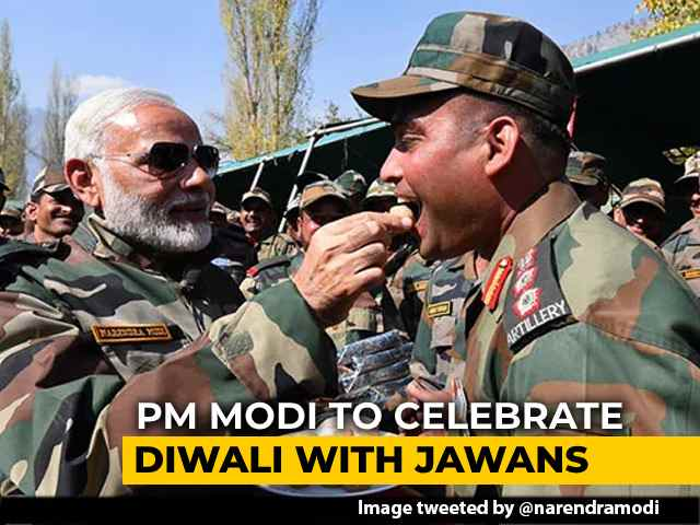 Video : PM Modi Likely To Celebrate Diwali With Soldiers Tomorrow: Sources