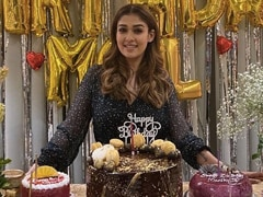 Pics From Nayanthara's Birthday Celebrations Are Sugar, Spice And Everything Nice