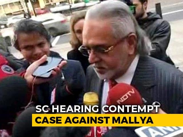 Video : Government To File Vijay Mallya Extradition Status Report By January 2021