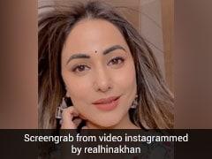 Hina Khan ने माधुरी दीक्षित के गाने पर दिए जबरदस्त एक्सप्रेशंस, Video डेढ़ लाख के पार