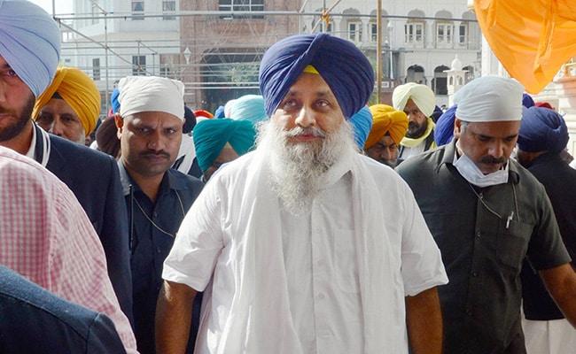 Shun Ego And Accept Farmers' Demands: Sukhbir Badal To Centre