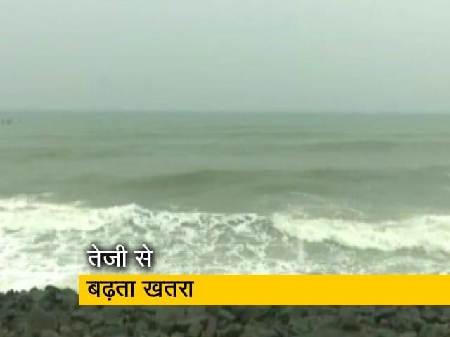 Videos : तेजी से बढ़ रहा 'निवार', मौसम विभाग ने दी चेतावनी
