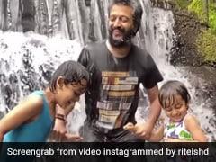 बर्थडे पर कभी मस्ती तो कभी घर में पोछा लगाता दिखा रियान, पापा रितेश देशमुख ने शेयर किया Video