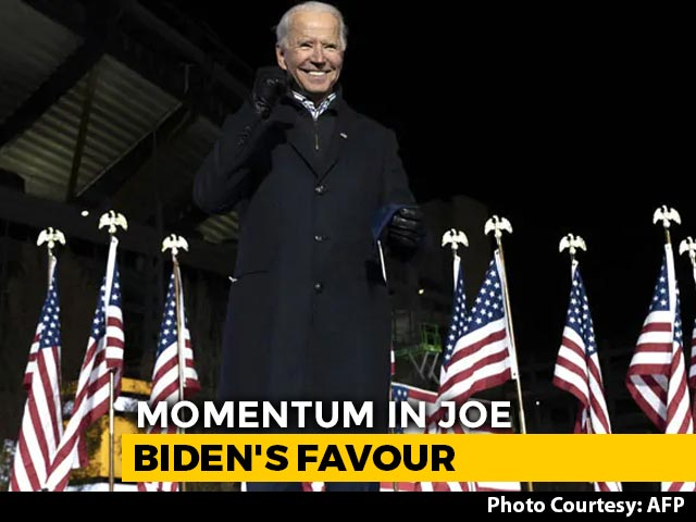 Video : Biden Expands Lead In Battleground States, Trump Digs In