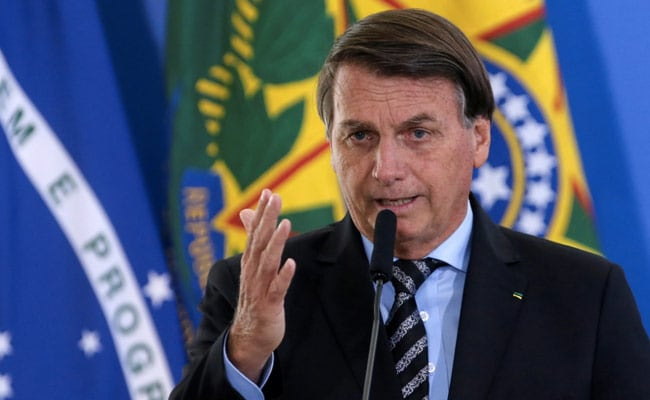 """I'm Not Going To Take It"": Brazil President On Covid Vaccine"