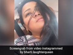 भारती सिंह ने शेयर किया Video, बोलीं- आज थोड़ा रोमांटिक मूड है...