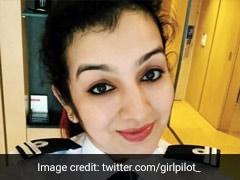 प्लेन में चढ़कर हरियाणवी ताई ने झांका कॉकपिट में, महिला पायलट को देख बोलीं- 'यहां तो छोरी बैठी है...'