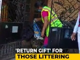 """Video : A Stinking """"Return Gift"""" For Those Littering Roads In Andhra Town"""