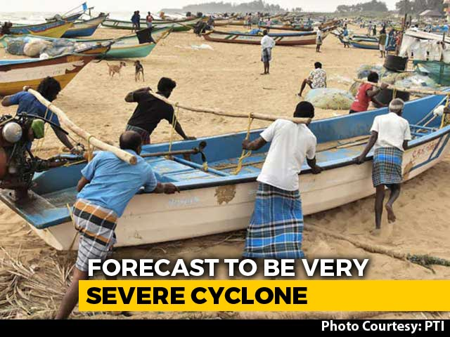 Video : Cyclone Nivar Turning Stronger, To Hit Tamil Nadu, Puducherry With Strong Winds