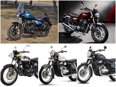 Royal Enfield Meteor 350 vs Honda H'Ness CB 350 vs Benelli Imperiale 400 vs Jawa & Jawa Forty-Two: Price Comparison