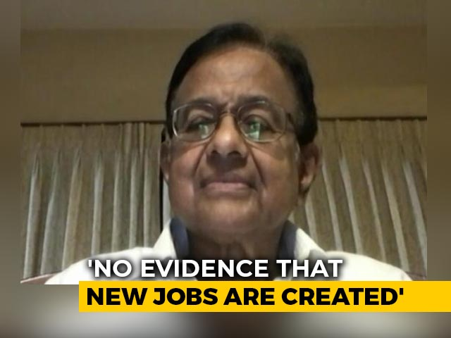 Video : Not A Stimulus Package To Revive Demand: P Chidambaram On Aatmanirbhar 3.0