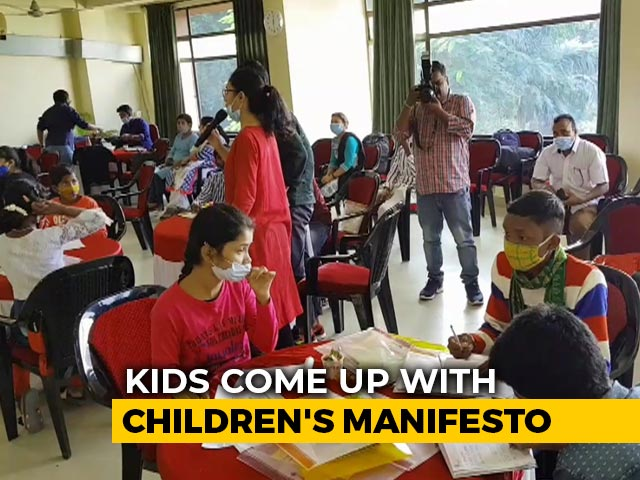 Video: World Children's Day: 4,000 Children In Assam Come Up With Children's Manifesto
