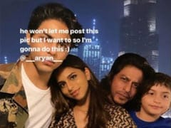 Aryan Didn't Want Suhana To Post His Pic From Dad Shah Rukh Khan's Birthday. So, She Did This