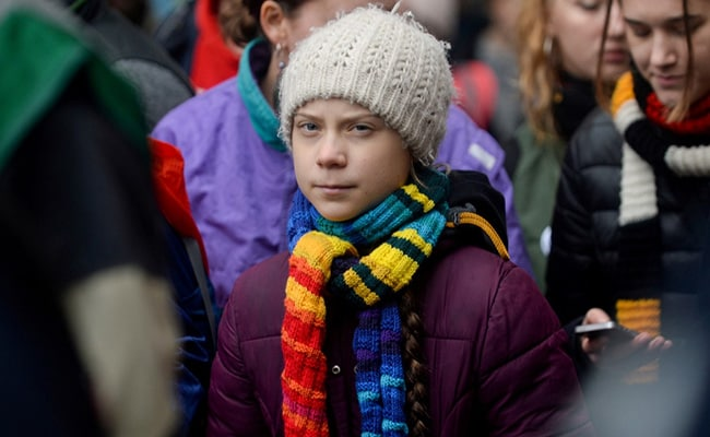 'A Very Happy Old Man': Greta Thunberg's Parting Scorch At Donald Trump