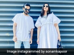 Sonam And Harrshvardhan Kapoor Set Twinning Goals In Cool Sneakers