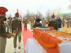 BSF Pays Tribute To Sub-Inspector Killed In Pakistan Ceasefire Violation