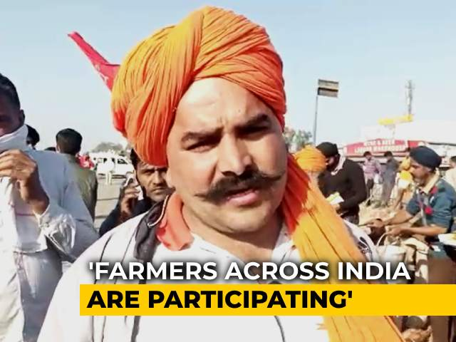 """Video : Haryana Farmers Hit Back After Chief Minister Says """"Protesters Not Ours"""""""