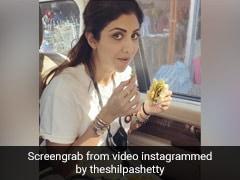 Shilpa Shetty वड़ा पाव देख खुद पर नहीं रख पाईं काबू, राज कुंद्रा ने बनाया Video