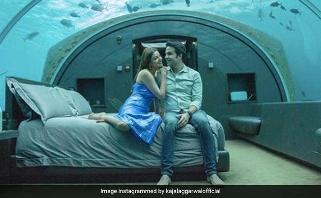 Kajal Aggarwal And Gautam Kitchlu Are Honeymooning At This Underwater Resort. See Pics