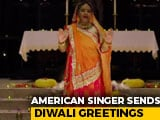 """Video : American Singer Performs """"Om Jai Jagdish"""" For Diwali"""