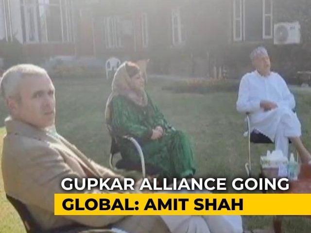 Video : Ahead Of Polls, Amit Shah vs Gupkar Alliance