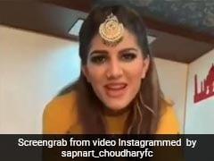 सपना चौधरी ने किया 'बहुत हार्ड' रैप, Viral Video में दिखा शानदार स्वैग