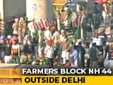 Video : Farmer Stand-Off Continues At Delhi-Haryana Border