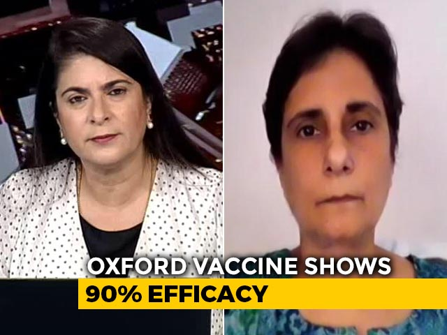 "Video : ""Vaccine Works"": Scientist Dr Gagandeep Kang On Oxford Data"