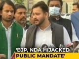 Video : Tejashwi Yadav Asks BJP Alliance To Fulfil 19 Lakh Job Promise