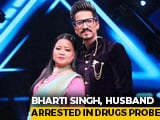 Video : After Comedian Bharti Singh, Husband Also Arrested In Drugs Probe
