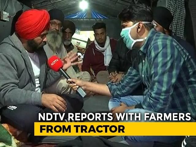 """Video : """"Have Ration For 2 Months, Prepared"""": Farmers Headed To Delhi Tell NDTV"""