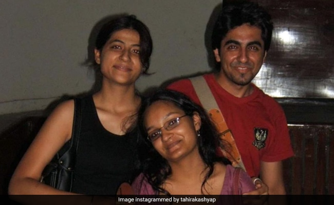 A Pic Of Ayushmann Khurrana And Tahira Kashyap As College Students