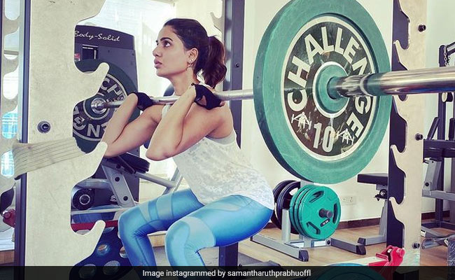 Samantha Ruth Prabhu Sets The Workout Mood Right With This Pic