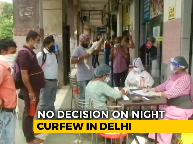 "Video : Curfew Under ""Consideration"", No Decision Yet: Delhi Tells Court On Covid"