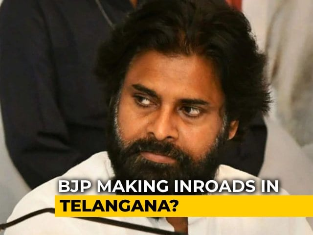 Video : Pawan Kalyan Agrees To Campaign For BJP In Hyderabad Civic Polls