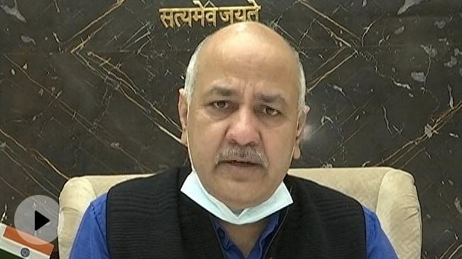 "Video | ""Look At PM, Home Minister's City"": Manish Sisodia On Covid Criticism"