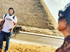 "Richa Chadha Is Making Memories In Egypt With ""Best Travel Partner"" Ali Fazal"