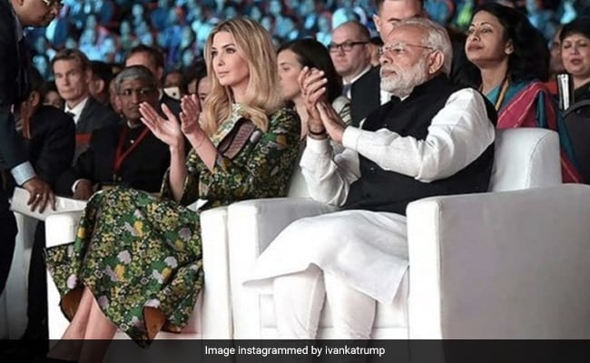 Ivanka Trump Shares Pics With PM From India Visit, Talks Of US-India Ties