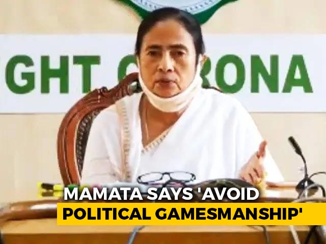 """Video : At Covid Meet, Mamata Banerjee """"Reminds"""" PM About Unpaid GST Dues: Report"""