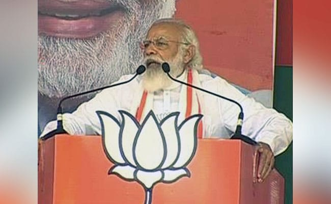 'Not Even 100 In Two Houses': PM Mocks Congress's Parliament Tally