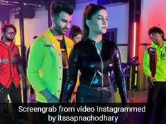 Sapna Choudhary ने 'तेरी आंख्या का यो काजल मार गया' पर किया मॉडर्न अंदाज में डांस, Video की धूम