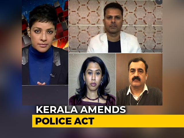 Video : Political Row Erupts After Kerala Amends Police Act