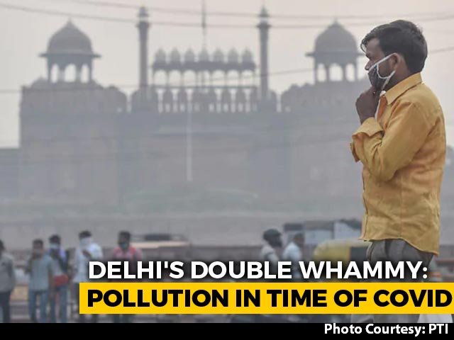 Video : 13% Of Delhi's Covid Case Spike Linked To Air Pollution: Medical Body